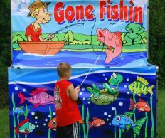 Фото Детская рыбалка без воды