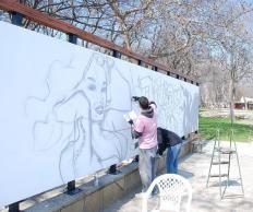 Фото Стена граффити