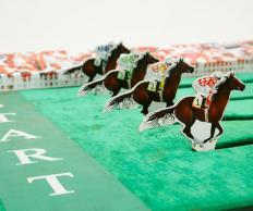 Фото Скачки на лошадках вприпрыжку