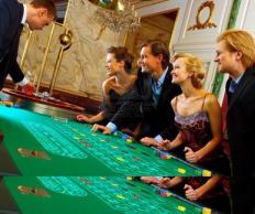 Фото Казино: Стол для игры в рулетку