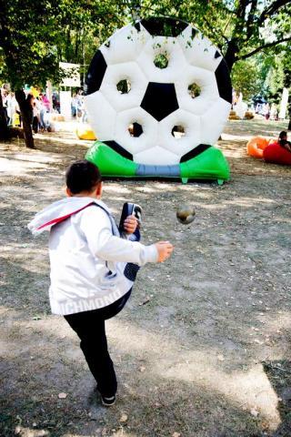 """Фото Точный гол """"Мяч"""""""