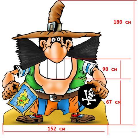 Фото Зубастый пират