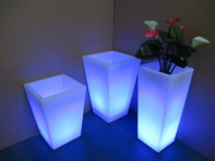 Фото Светодиодная ваза 55 см