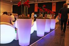 Фото Конический вазон/кулер с подсветкой