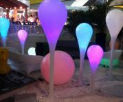 Фото Напольный LED светильник - капля (длинный)