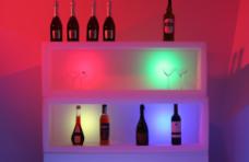 Фото LED витрина для барной продукции