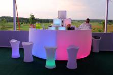 Фото Барная стойка с подсветкой (2 секции)
