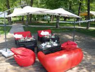 Фото Комплект Loft мебели Red&Black (10 человек)