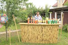 Фото Гавайская бамбуковая барная стойка