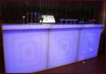 Фото Светящаяся барная стойка